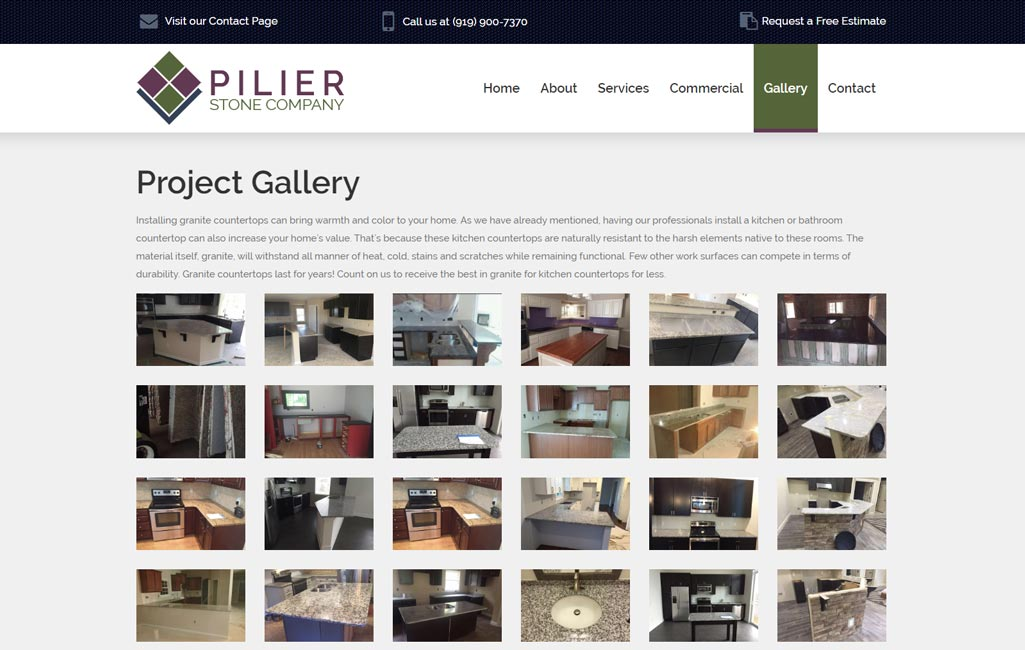 Pilier Stone Fabrication Picture 4